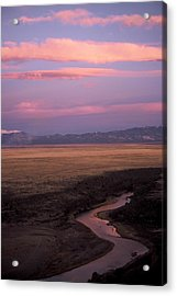 Last Light Acrylic Print by Lynard Stroud
