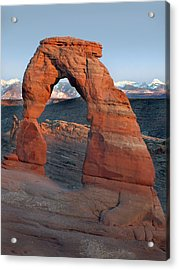 Last Light On Delicate Arch  Acrylic Print