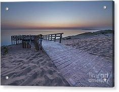 Last Light Over The Dunes Acrylic Print