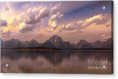 Acrylic Print featuring the photograph Last Light by Robert Pearson