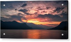 Last Light - Wide Acrylic Print