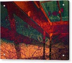 Last Night Under The Boardwalk Acrylic Print