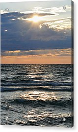 Last Rays Of Sunlight Acrylic Print
