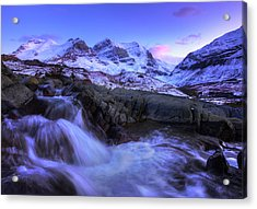 Acrylic Print featuring the photograph Last Rays On Andromeda by Dan Jurak