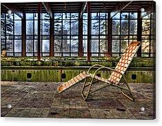 Last Resort Acrylic Print by Evelina Kremsdorf