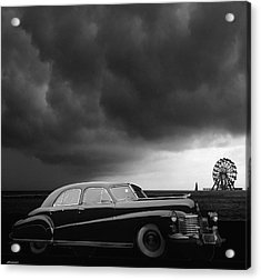 Roadside Attraction Acrylic Print by Larry Butterworth