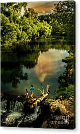 Acrylic Print featuring the photograph Last Seconds Of Summer by Robert Frederick
