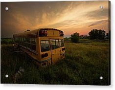 Acrylic Print featuring the photograph Last Stop  by Aaron J Groen