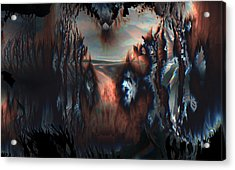 Acrylic Print featuring the digital art Last Sunrise by Vadim Epstein