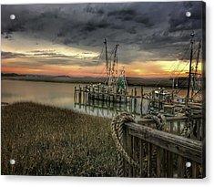 Last Sunset Acrylic Print