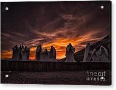 Last Supper At Sunset Acrylic Print