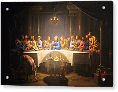Last Supper Meeting Acrylic Print