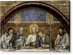 Last Supper Of Christ Acrylic Print by Adrian Hancu