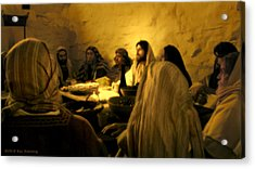 Last Supper Acrylic Print by Ray Downing