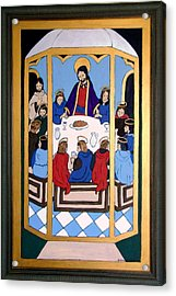 Acrylic Print featuring the painting Last Supper by Stephanie Moore
