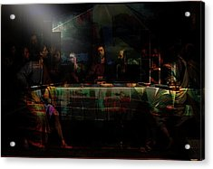 Last Supper...after Philippe De Champaigne Acrylic Print by Paul Sutcliffe