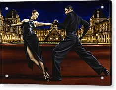 Last Tango In Paris Acrylic Print by Richard Young