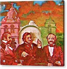 Last Three Mexican Generals Acrylic Print