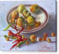 Last Tomatoes From My Garden Acrylic Print