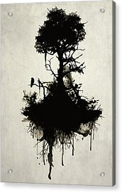 Last Tree Standing Acrylic Print by Nicklas Gustafsson