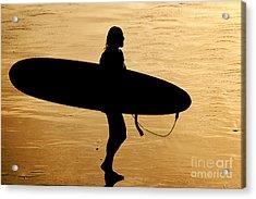 Last Wave Acrylic Print