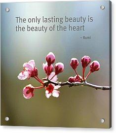 Lasting Beauty Acrylic Print