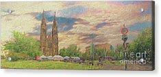 Lasting Impression - Prague Acrylic Print