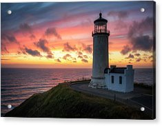 Acrylic Print featuring the photograph Lasting Light by Ryan Manuel