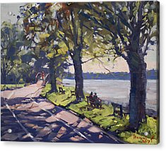 Late Afternoon At Niawanda Park Acrylic Print