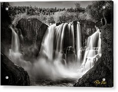 Late Afternoon At The High Falls Acrylic Print