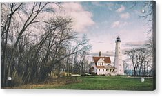Late Afternoon At The Lighthouse Acrylic Print