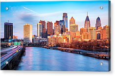 Late Afternoon In Philadelphia Acrylic Print