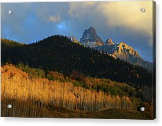 Acrylic Print featuring the photograph Late Afternoon Light On The San Juans by Jetson Nguyen
