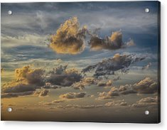 Acrylic Print featuring the photograph Late Day Clouds On The Prisendam by John Haldane