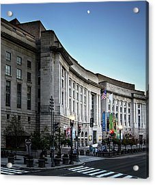 Acrylic Print featuring the photograph Late Evening At The Ronald Reagan Building by Greg Mimbs