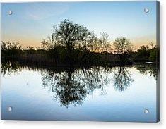 Late Evening Reflections I Acrylic Print