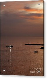 Acrylic Print featuring the photograph Late Evening by Viktor Savchenko