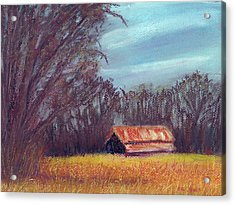 Late Fall On The Farm Acrylic Print