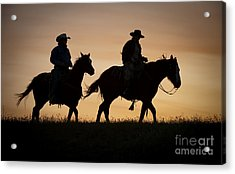 Late For Supper Acrylic Print