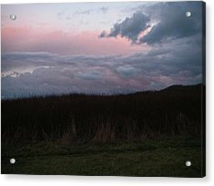 Acrylic Print featuring the photograph Late Light by Laurie Stewart