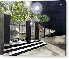 Late Night In New Orleans Acrylic Print by Cathy Jourdan