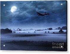 Late Night Lancasters Acrylic Print