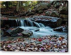 Late October Morning At Coxing Kill Acrylic Print