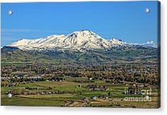 Acrylic Print featuring the photograph Late Spring On Squaw Butte by Robert Bales