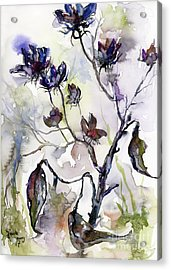 Late Summer Seed Pods Acrylic Print
