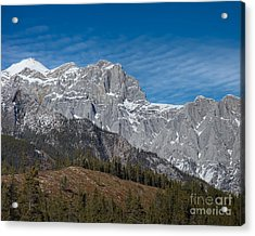 Late Winter In The Rockies Acrylic Print by Royce Howland