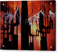 Latent Voltage Acrylic Print