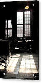 Lathe Acrylic Print by Larry Darnell