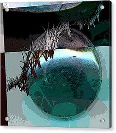 Latitude Acrylic Print by Theresa Paris