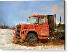 Acrylic Print featuring the photograph Latsha Lumber Truck by Lori Deiter
